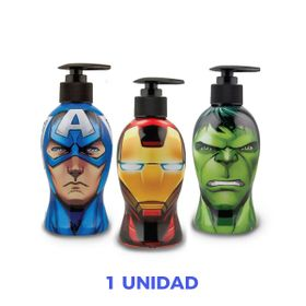 18419-JABON-LIQUIDO-250ML-AVENGERS-HEAD