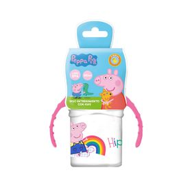 26742-STOR-TODDLER-SILICONE-SIPPY-TRAINING-MUG-250ML-PEPPAPIG